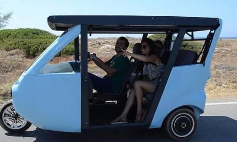 Νεαροί Κρητικοί σχεδίασαν και βγάζουν στην παραγωγή ηλιακό όχημα! Δείτε το βίντεο