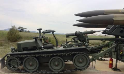 Έλεγχος επιχειρησιακής ετοιμότητας της 181 ΜΚ/Β «HAWK» από τον διοικητή 1ης στρατιάς (pics)