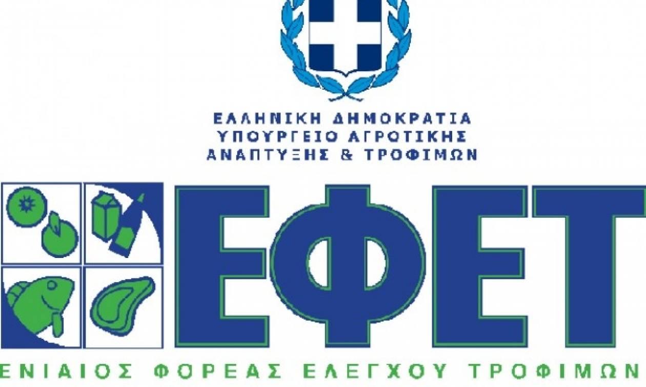Ανάκληση εξαιρετικά παρθένου ελαιόλαδου από τον ΕΦΕΤ