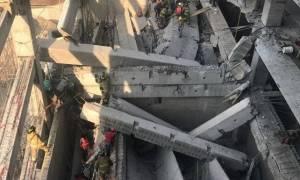 Ασύλληπτη τραγωδία στο Μεξικό: Έξι νεκροί και 20 τραυματίες από κατάρρευση κτηρίου