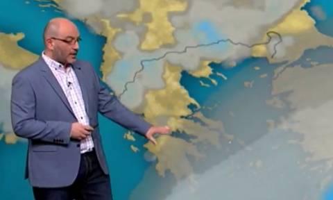 Σάκης Αρναούτογλου: «Εχει ένα μεγάλο σασπένς ο καιρός, κυρίως για τη Δευτέρα του Πάσχα...» (video)