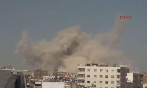 Τουρκία: Η ισχυρή έκρηξη στο Ντιγιάρμπακιρ οφείλεται σε λάθος της αστυνομίας (Pics+Vids)