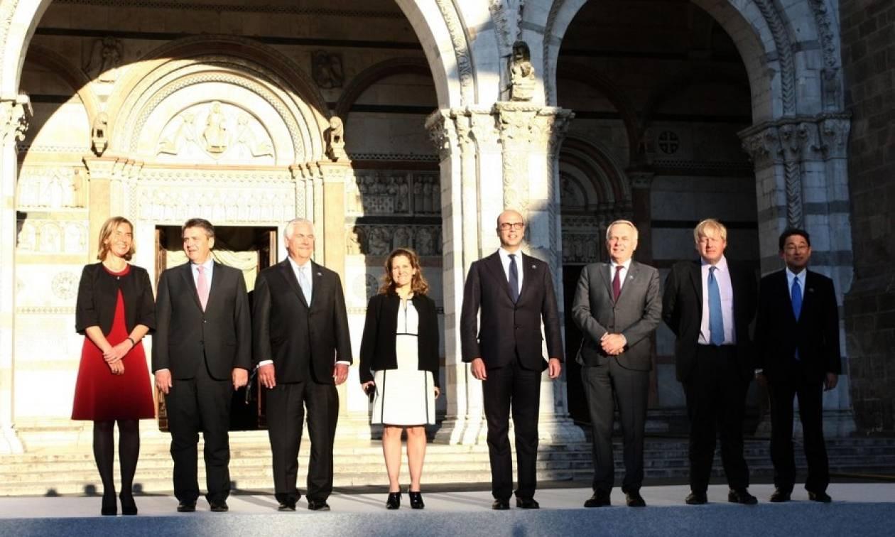 Τελική απόφαση των G7: Δεν υπάρχει λύση στη Συρία με τον Άσαντ στην εξουσία