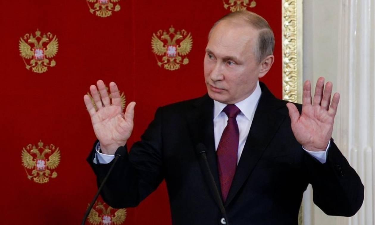 «Βόμβα» από Πούτιν: Ετοιμάζονται νέες προβοκάτσιες με χημικά όπλα στη Συρία (vid)