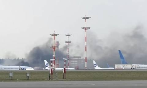 Αναστάτωση στο αεροδρόμιο της Μόσχας λίγο πριν προσγειωθεί ο ΥΠΕΞ των ΗΠΑ (vid)