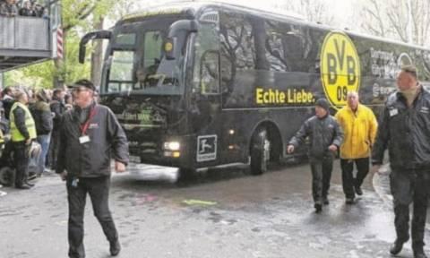ΣΟΚ: Έκρηξη δίπλα στο πούλμαν της Ντόρτμουντ - Τραυματίστηκε παίκτης