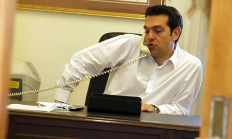 Τηλεφωνική επικοινωνία Τσίπρα με τον πρόεδρο της Αιγύπτου