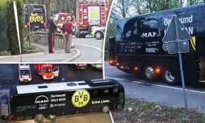 Πληροφορία – ΣΟΚ: Παγιδευμένο αυτοκίνητο «χτύπησε» το πούλμαν της Ντόρτμουντ