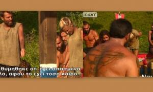 Σοκ στο Survivor: «Ο Ντάνος έσπασε τα δάχτυλά του» (video)