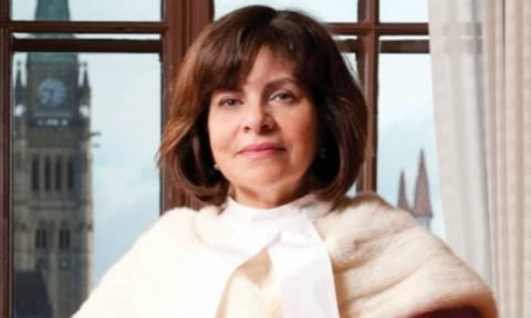 Η πρώτη Ελληνίδα δικαστής στο Ανώτατο Δικαστήριο του Καναδά