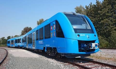 Αυτό είναι το πρώτο τρένο στον κόσμο με μηδενικές εκπομπές ρύπων