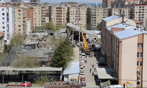 Το PKK ανέλαβε την ευθύνη για το χτύπημα στο Ντιγιάρμπακιρ