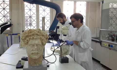 Τα χρώματα των αρχαίων αγαλμάτων στη δράση «Ανοιχτό Μουσείο» του Εθνικού Αρχαιολογικού Μουσείου