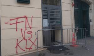 Εμπρηστική επίθεση στα γραφεία της Λεπέν στο Παρίσι