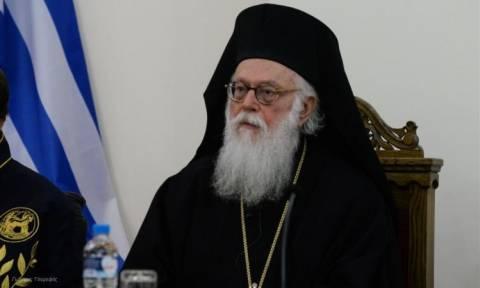 Επίτιμος δημότης Λάρισας θα ανακηρυχθεί ο αρχιεπίσκοπος Τιράνων, Δυρραχίου και πάσης Αλβανίας