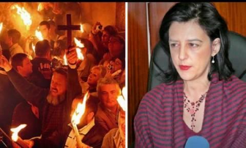 «Ψευδοθαύμα» το Άγιο Φως λέει βουλευτής του ΣΥΡΙΖΑ