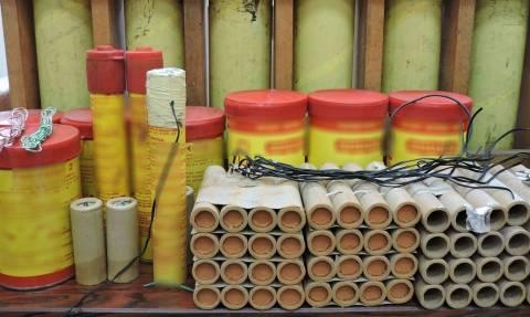 Κέρκυρα: Εντοπίστηκε παράνομο εργαστήριο κατασκευής πυροτεχνημάτων