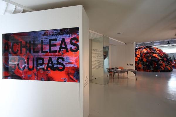 sos achilleas souras moroso milan design week installation refugees dezeen 2364 col 12
