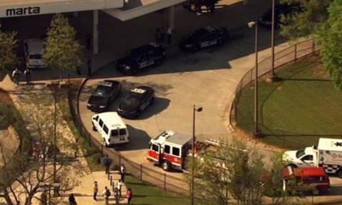 ΗΠΑ: Ένας νεκρός και τρεις τραυματίες από πυροβολισμούς σε σταθμό τρένων στην Ατλάντα (vid)