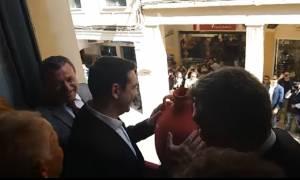 Στην Κέρκυρα ο Τσίπρας: Τα κανάτια, η Ιθάκη και η φαρμακερή ατάκα για τον Σόιμπλε (vid)