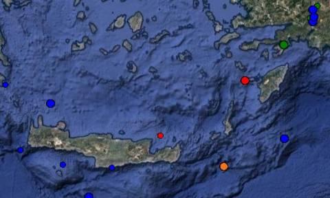 Σεισμός 3,9 Ρίχτερ στην Τήλο - Αισθητός και στη Ρόδο