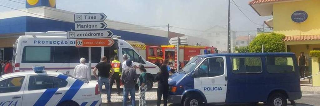Τραγωδία στην Πορτογαλία: Συνετρίβη αεροπλάνο σε σουπερμάρκετ - Τουλάχιστον τέσσερις νεκροί