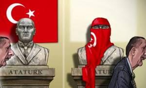 Από τον Ατατούρκ στον... Δικτατούρκ - Το συγκλονιστικό σκίτσο για τον Ερντογάν
