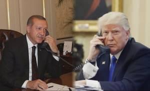 Ο Τραμπ συνεχάρη τον Ερντογάν για τη νίκη του στο δημοψήφισμα
