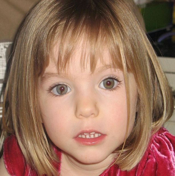 PROD Madeline McCann missing