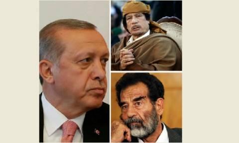 «Ο Ερντογάν θα έχει την τύχη του Καντάφι και του Σαντάμ» (vid)