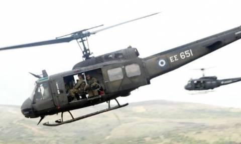 Πτώση στρατιωτικού ελικοπτέρου της Αεροπορίας Στρατού με 5 επιβαίνοντες στην Κοζάνη