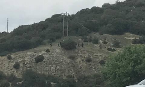 Πτώση ελικοπτέρου: Αποκλειστικές φωτογραφίες του Newsbomb.gr από τον τόπο του δυστυχήματος