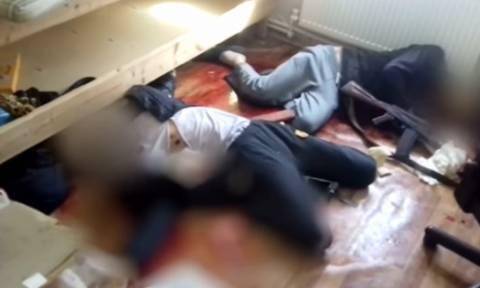 Προσοχή, σκληρές εικόνες: Νεκροί επίδοξοι τρομοκράτες που σχεδίαζαν νέο αιματοκύλισμα (video)