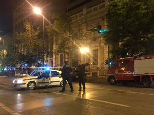 Συναγερμός στην Αντιτρομοκρατική: Ισχυρή έκρηξη σε κατάστημα τράπεζας στο κέντρο της Αθήνας