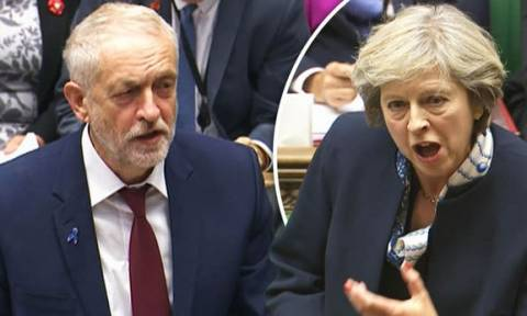 Εκλογές Βρετανία: Σφοδρή επίθεση του Κόρμπιν κατά της Μέι