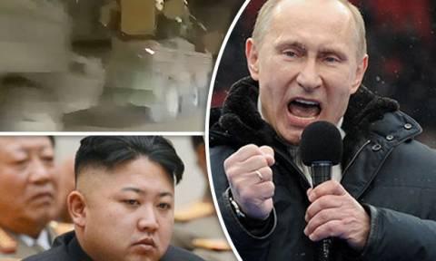 Τύμπανα πολέμου: Ο Πούτιν στέλνει στρατό στα σύνορα με τη Β. Κορέα (vid)