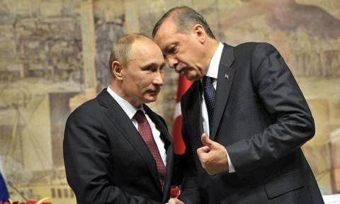 Κρίσιμο τετ-α-τετ Πούτιν με Ερντογάν για τη Συρία