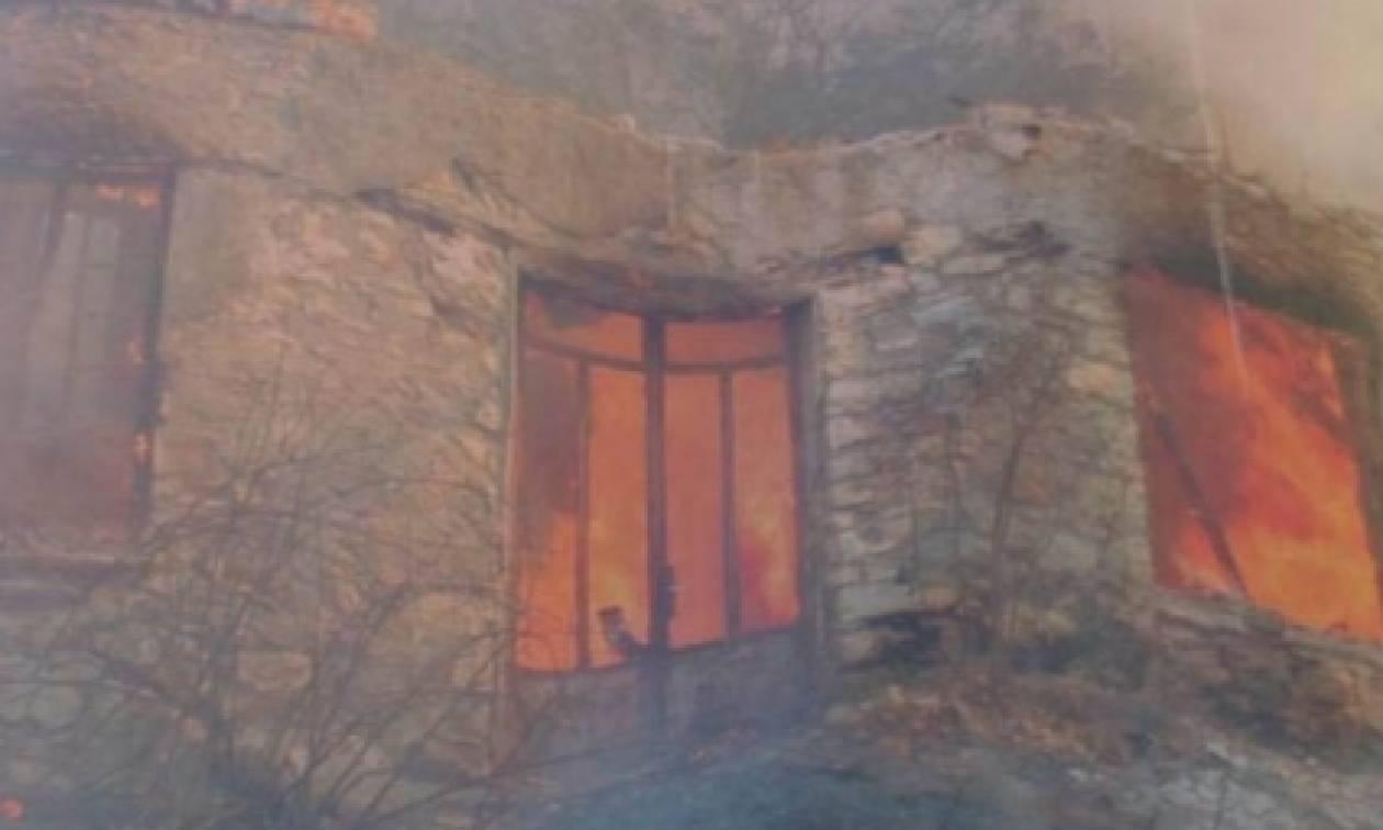 Αγόριανη: Κάηκε ολοσχερώς οικία πιθανά απανθρακωμένος ο 83χρονος ιδιοκτήτης