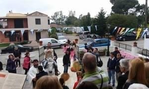 Θεσπρωτία: Αναβίωσε το έθιμο του Αη Γιώργη