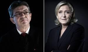 Εκλογές Γαλλία 2017: Πανικός στις διεθνείς αγορές υπό το φόβο νίκης της Λεπέν ή του Μελανσόν