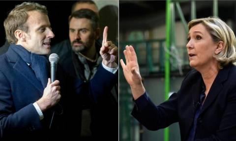 Εκλογές Γαλλία 2017: Μεγάλη νίκη του Μακρόν επί της Λεπέν δείχνει νέα δημοσκόπηση – Δείτε τη διαφορά