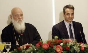 Μητσοτάκης: Η Εκκλησία είναι αναπόσπαστο τμήμα της εθνικής μας ταυτότητας