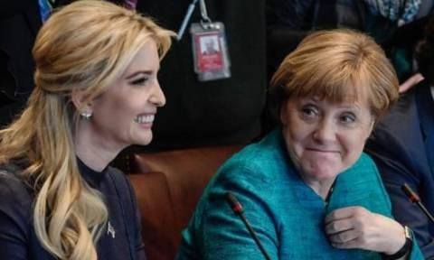 Η Ιβάνκα Τραμπ σε σύνοδο κορυφής μαζί με Μέρκελ και Λαγκάρντ