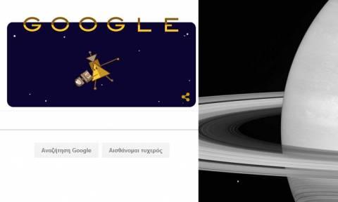 Το διαστημόπλοιο Cassini περνάει ανάμεσα από τον Κρόνο και τους δακτυλίους του!