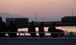 Μυτιλήνη: Αποχώρησαν οι διαμαρτυρόμενοι μετανάστες και αλληλέγγυοι από τις εισόδους του λιμανιού