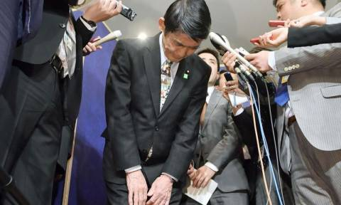 Ιαπωνία: Παραιτήθηκε υπουργός έπειτα από σχόλιό του για τον σεισμό του 2011