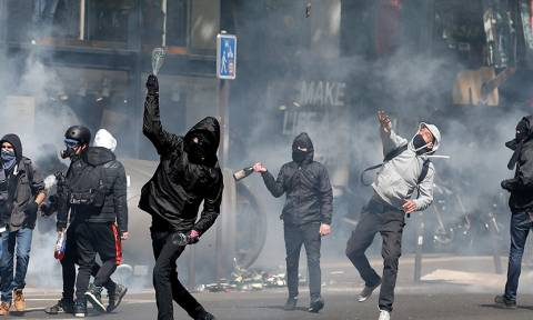 Γαλλία εκλογές 2017: Σοβαρά επεισόδια στο Παρίσι