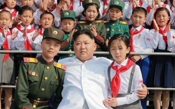 100128339 Schoolchildren stand beside North Korean leader Kim Jong Un as he arrives to attend We Are xlarge trans NvBQzQNjv4BqgsaO8O78rhmZrDxTlQBjdEbgHFEZVI1Pljic pW9c90