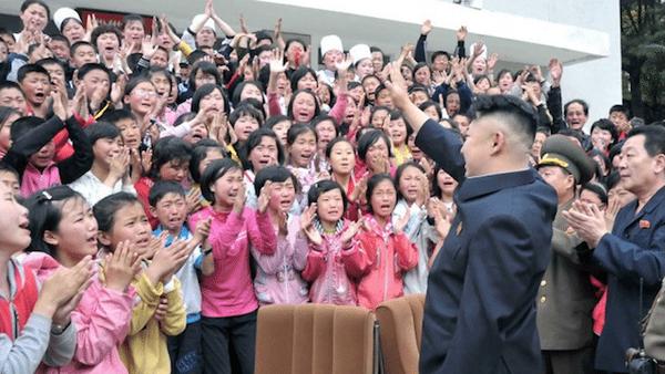 kim jong un visits childrens camp