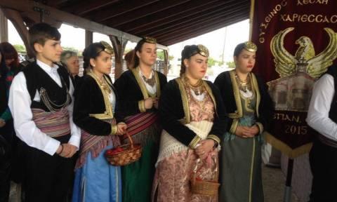 Νάουσα: Αναβίωσε το Ταφικό έθιμο (pics)